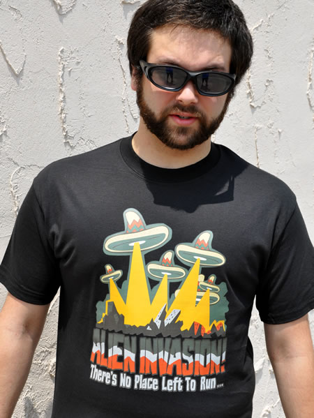 ALIEN INVASION T-SHIRT