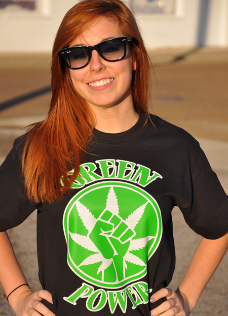 GREEN POWER T-SHIRT