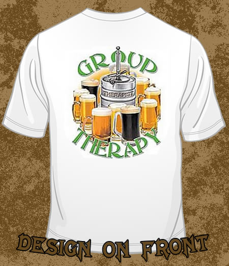 Group Therapy GREEN - FUNNY T-shirts